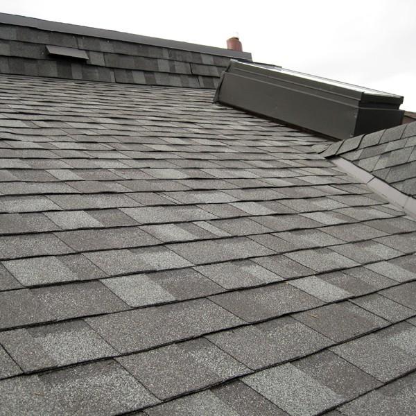 IKO Cambridge Asphalt Shingles  and flat roof repair – Seaton Village, Toronto.